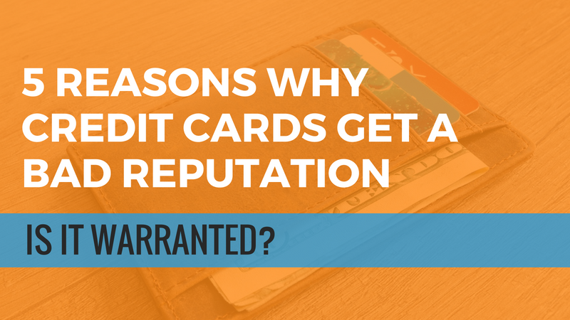 Credit Card Bad Reputation