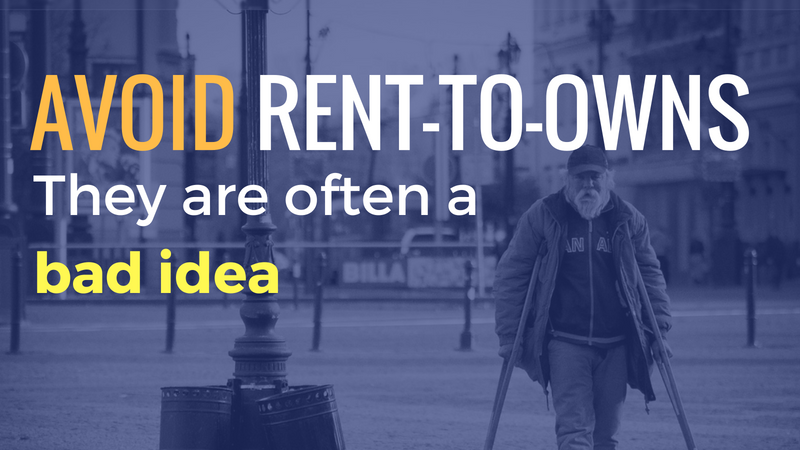 Don't Do Rent To Own