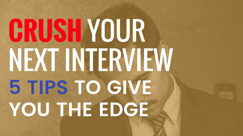 Killer Interview Tips List