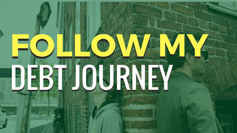 Follow My Debt Journey Banner