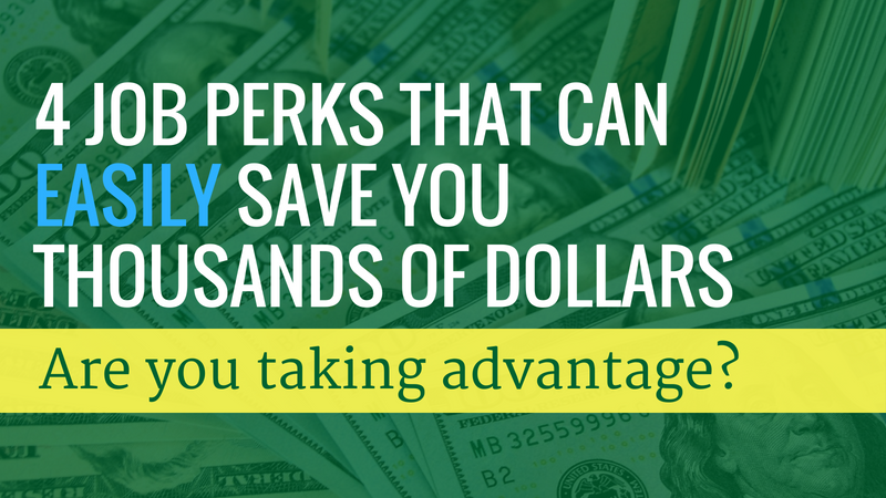 Save Money Job Perks Graphic