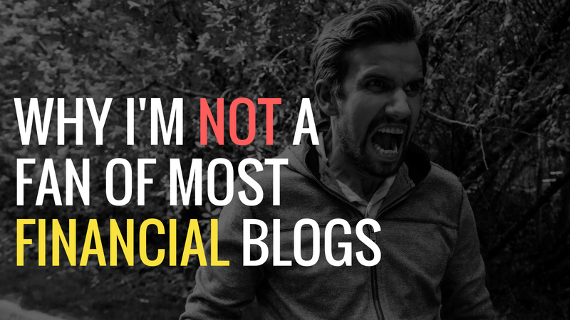 Why Financial Blogs Suck