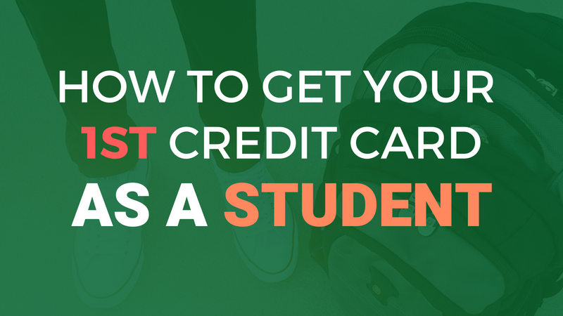Get Credit Card As A Student