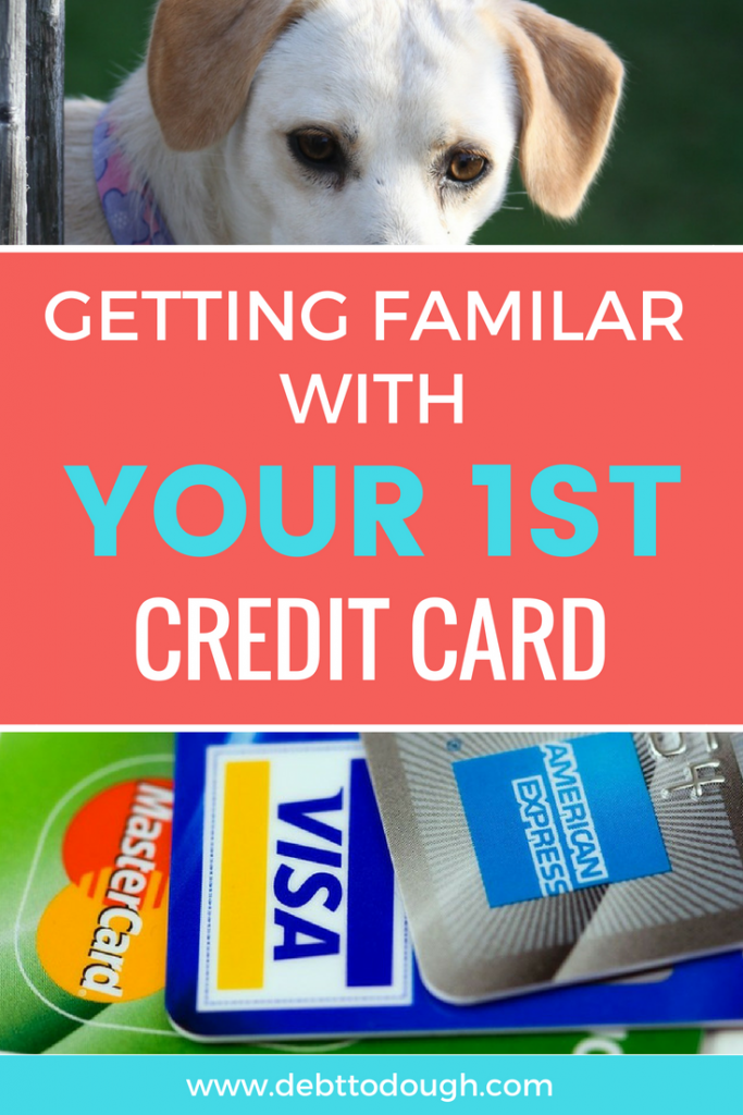 Using Your 1st Credit Card Basics