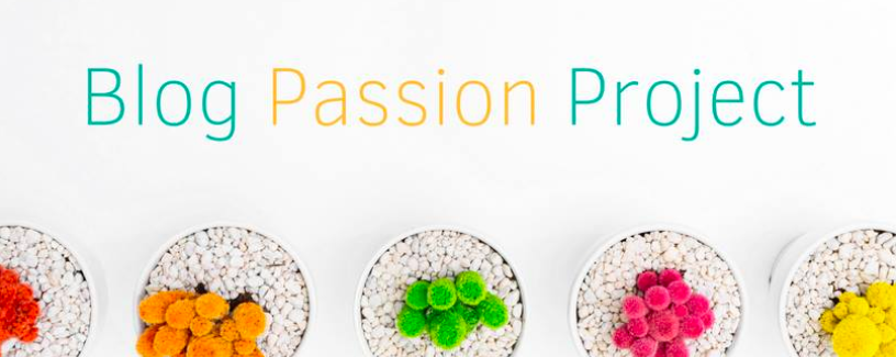 Blog Passion Project Cover