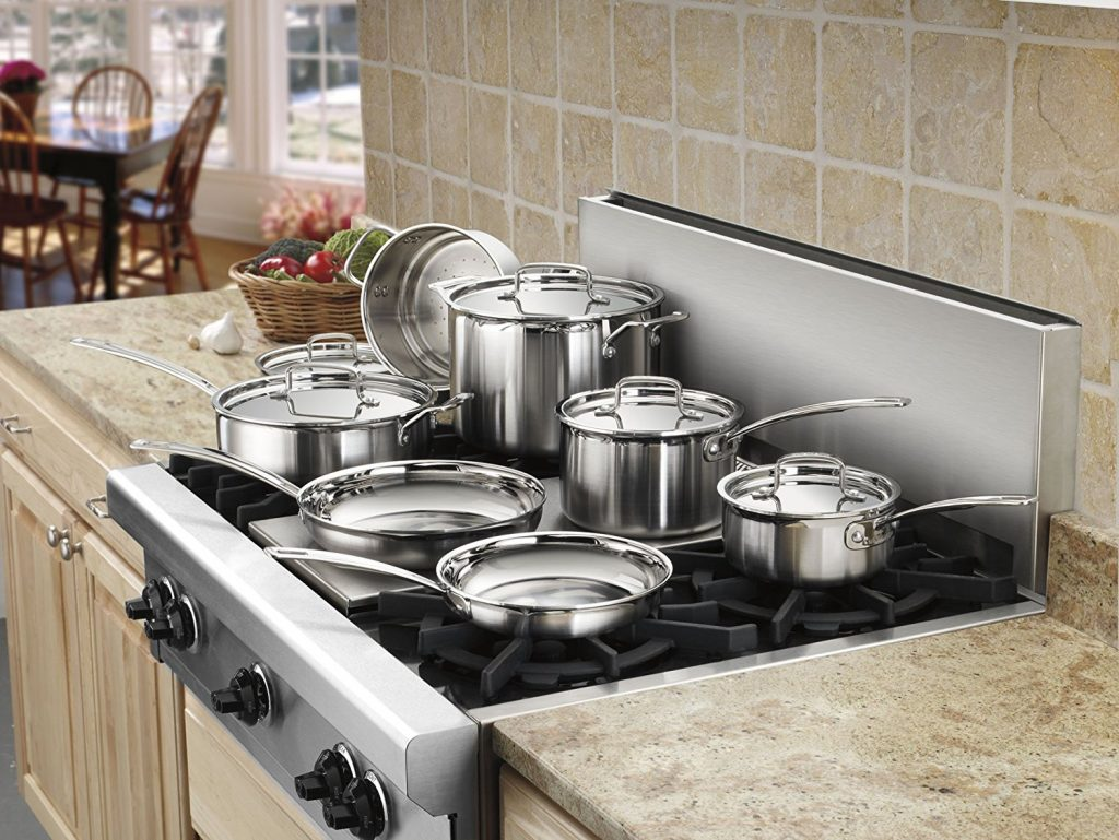 Buy It For Life Stainless Steel Cookware