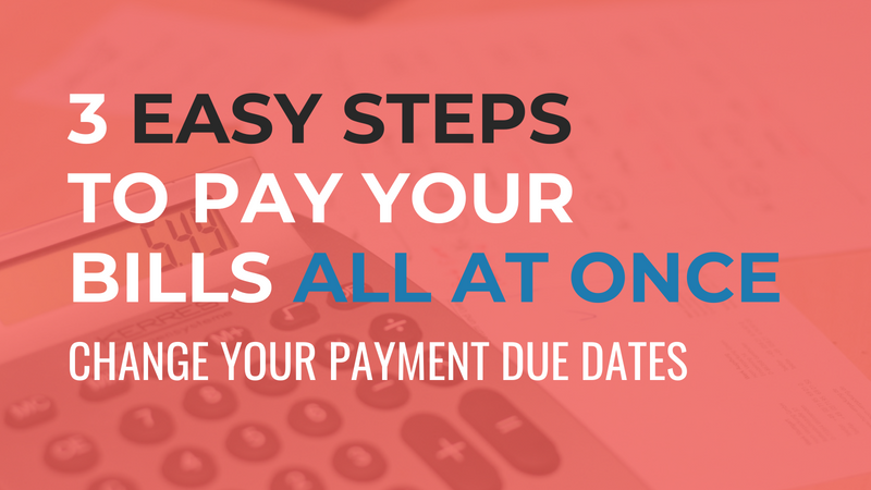Pay Your Bills At Once Graphic