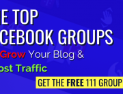 Top Facebook Groups Banner Grow Blog