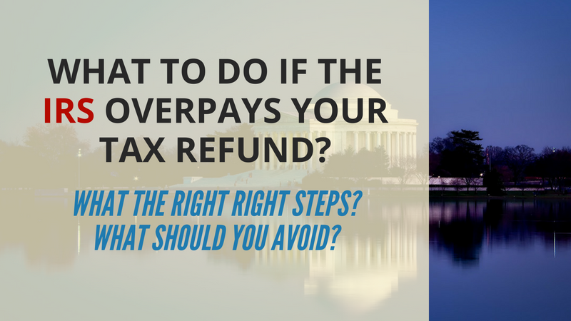 IRS Overpays Your Tax Refund