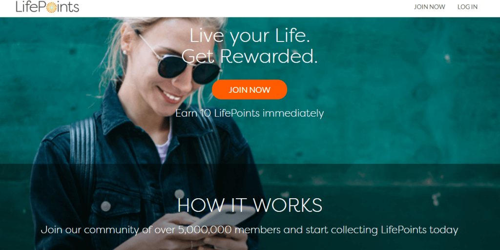 Lifepoints teen survey site paid