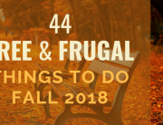 Free & Frugal Things To Do Fall